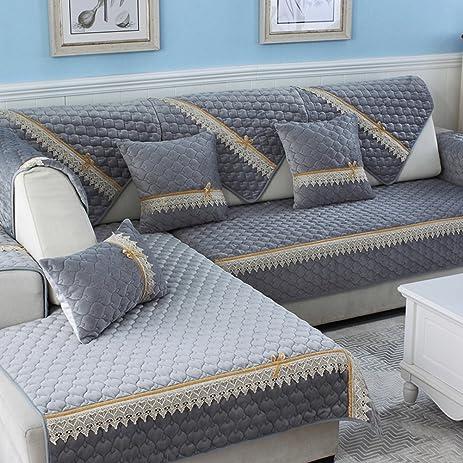Sofa Slipcovers,Sofa Covers,Protector Furniture Plush Sofa Cushions/Solid  Wood Living Room