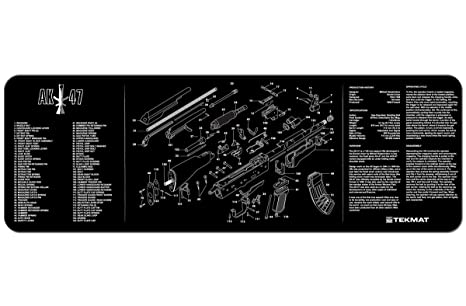 Amazon Tekmat Ak 47 Cleaning Mat 12 X 36 Thick Durable