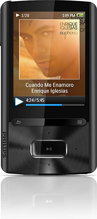 philips gogear mp4 player 8gb user manual
