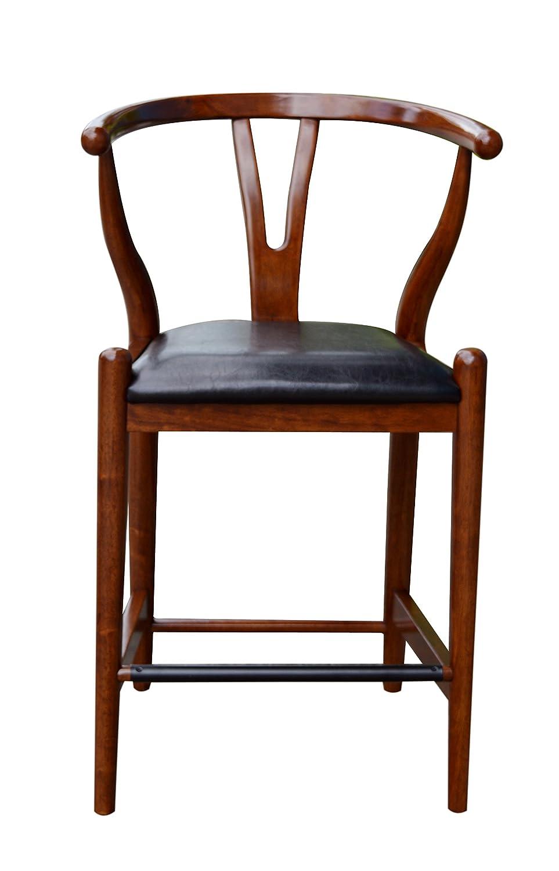 Amazon.com: Boraam 51024 Wishbone Counter Height Stool, 24 Inch, Cherry:  Kitchen U0026 Dining