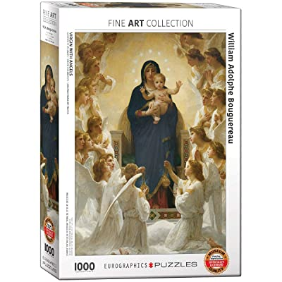 EuroGraphics Virgin with Angels by William Bouguereau 1000 Piece Puzzle: Toys & Games [5Bkhe1802540]