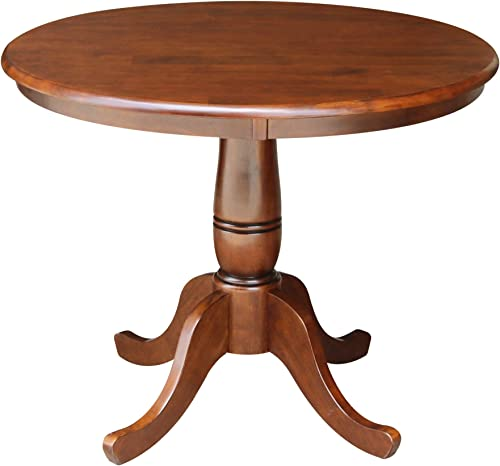 International Concepts 36-Inch Round Pedestal Table