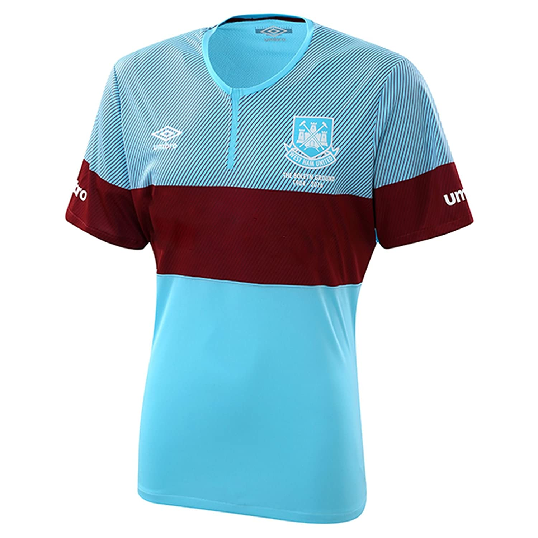Umbro 2015-2016 West Ham Away Football Shirt (Kids): Amazon.es ...