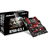ASRock 970A-G/3.1 Socket AM3+/ AMD 970/ DDR3/ Quad CrossFireX/ SATA3&USB3.1/ M.2/ A&GbE/ ATX Motherboard