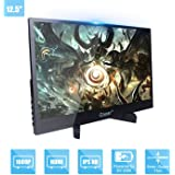 Portable Monitor 12.5-inch IPS Full HD 1920x1080P 5mm Ultra-Thin Display for PC Laptop Gaming PS4 XBox DVD Player Dual…