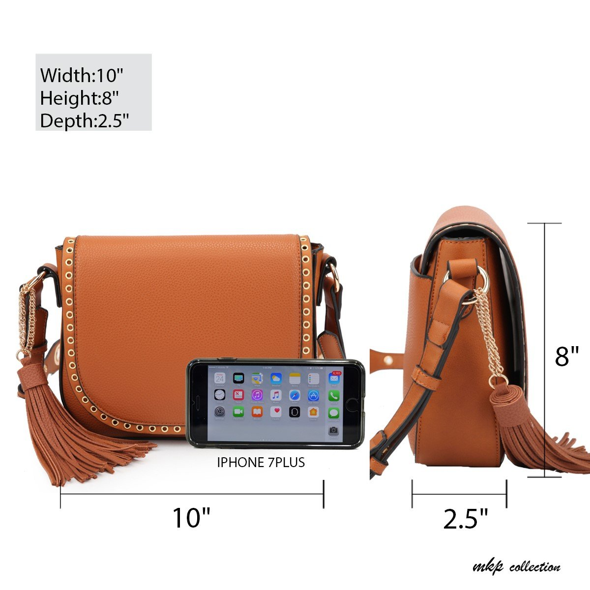957a28129764 MKP Collection Fashion Cross-body bag~Front Flap Snap Closure ...