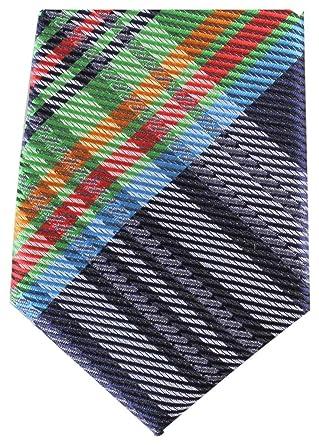 Knightsbridge - Corbata de poliéster para hombre, diseño de tartán ...