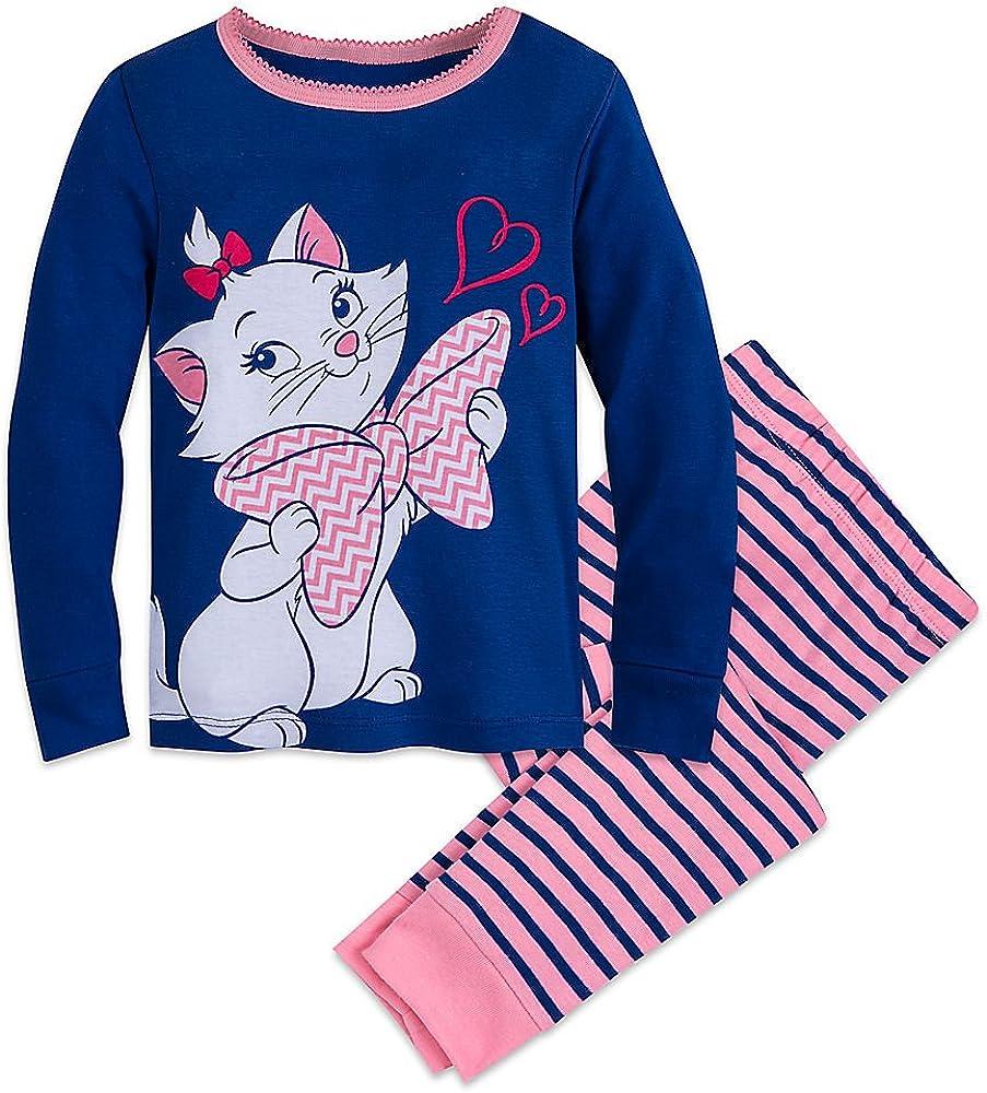 Girls Disney Marie Aristocats Cats Pyjamas Nightwear
