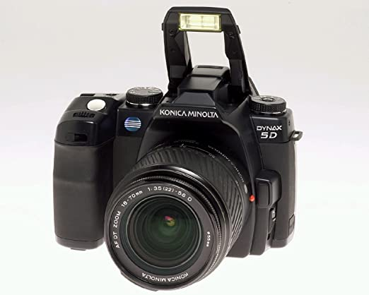 Konica Minolta Dynax 5d Slr Digitalkamera Nur Gehäuse Kamera