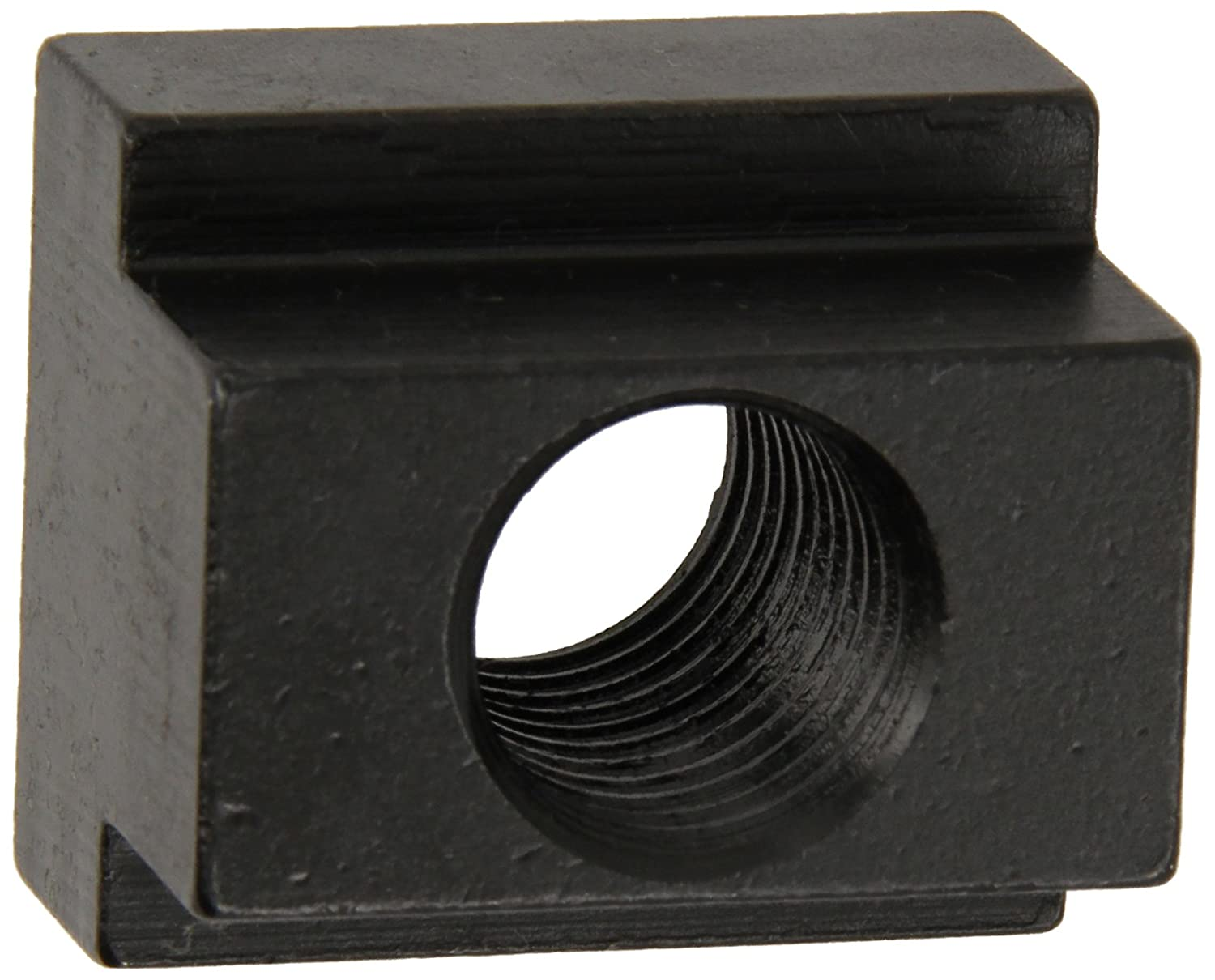 Made in US 5//8 Height 1018 Steel T-Slot Nut Pack of 5 1//2-13 Threads Black Oxide Finish 5//8 Slot Depth Grade 2