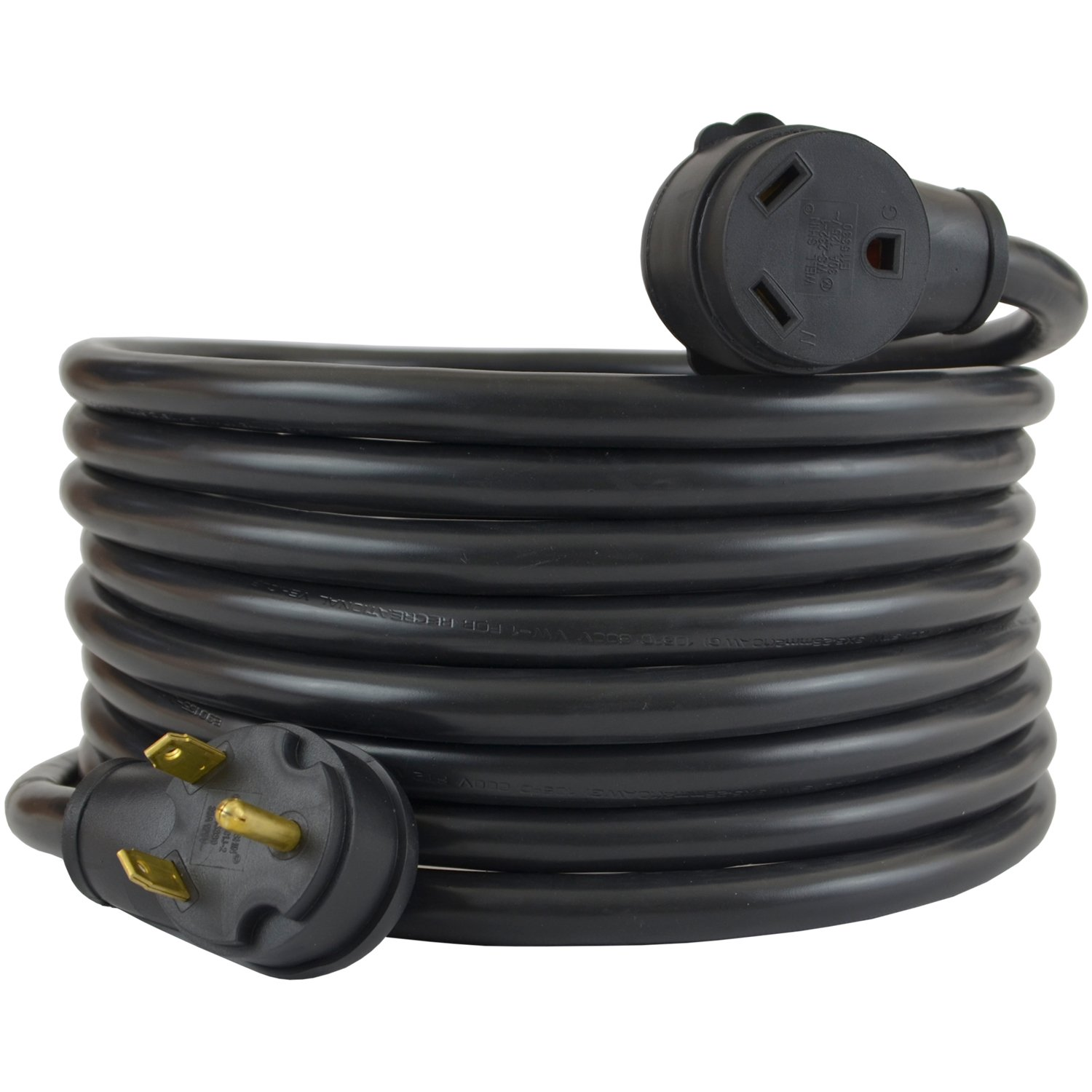 amazon com conntek 15360 30amp rv extension cord, 10 feet, blackamazon com conntek 15360 30amp rv extension cord, 10 feet, black garden \u0026 outdoor