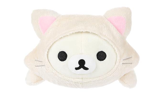 San-X Korilakkuma Cute Cat Blanket~Soft~Kawaii~Big Size~Rilakkuma~120x115cm~NEW!