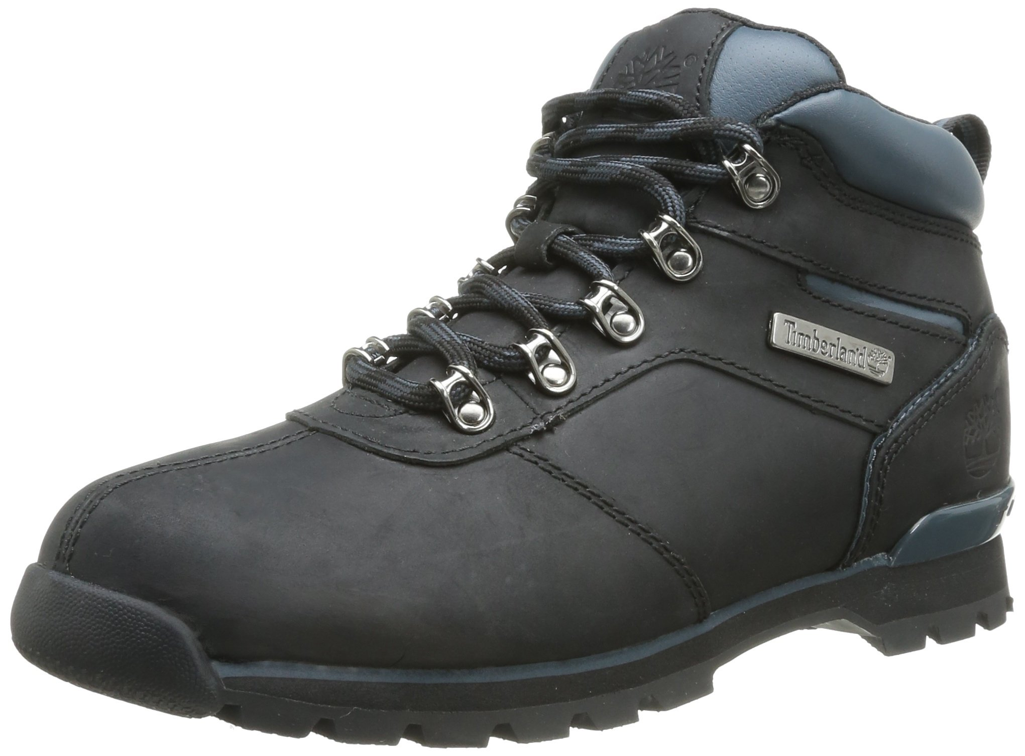 Timberland Mens Hiking Boots Size 8.5 M 6818R Splitrock 2 Black Nubuck by Timberland