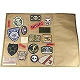 OneTigris - Supporto per toppe tattiche militari, piatto, supporto in velcro