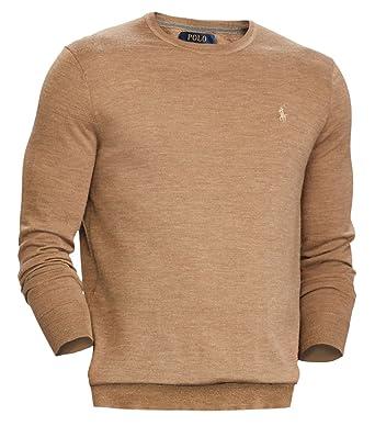 b2d1bd4f36a60 Polo Ralph Lauren Men s Merino Wool Crew Neck Sweater