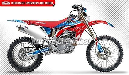 ANALOG Team Racing Graphics kit compatible with Honda 2008-2017 CRF 450X
