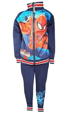 Spiderman - Chándal - para niño Azul Dark Blue Ultimate Spiderman ...