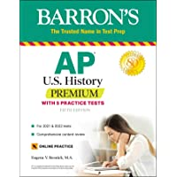 Image for AP US History Premium: With 5 Practice Tests (Barron's Test Prep)