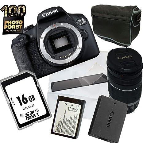 1A PHOTO PORST Aniversario Oferta Canon EOS 2000D + Lente Canon + ...