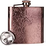 Mealivos 6oz Stainless Steel Hip Flask (copper)