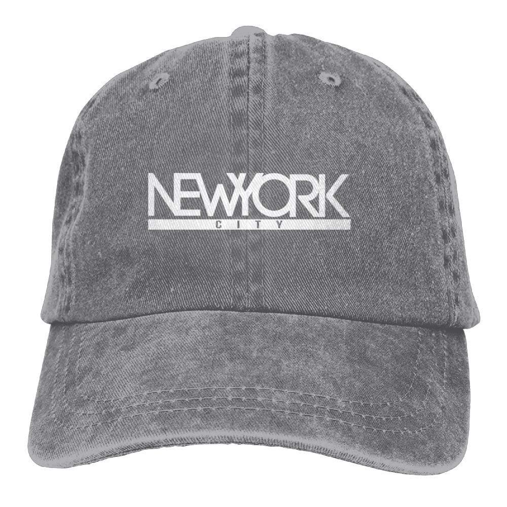 Hombre Mujer Gorras de béisbol, New York City 1 Denim Hat ...