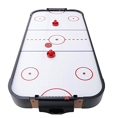 JungleA Air Hockey Table 40 Inches Tabletop Air-Powered Hockey Set with Electric Motor Fan, 2 Pucks, 2 Pushers, Game Table for Kids and Adults : Sports & Outdoors