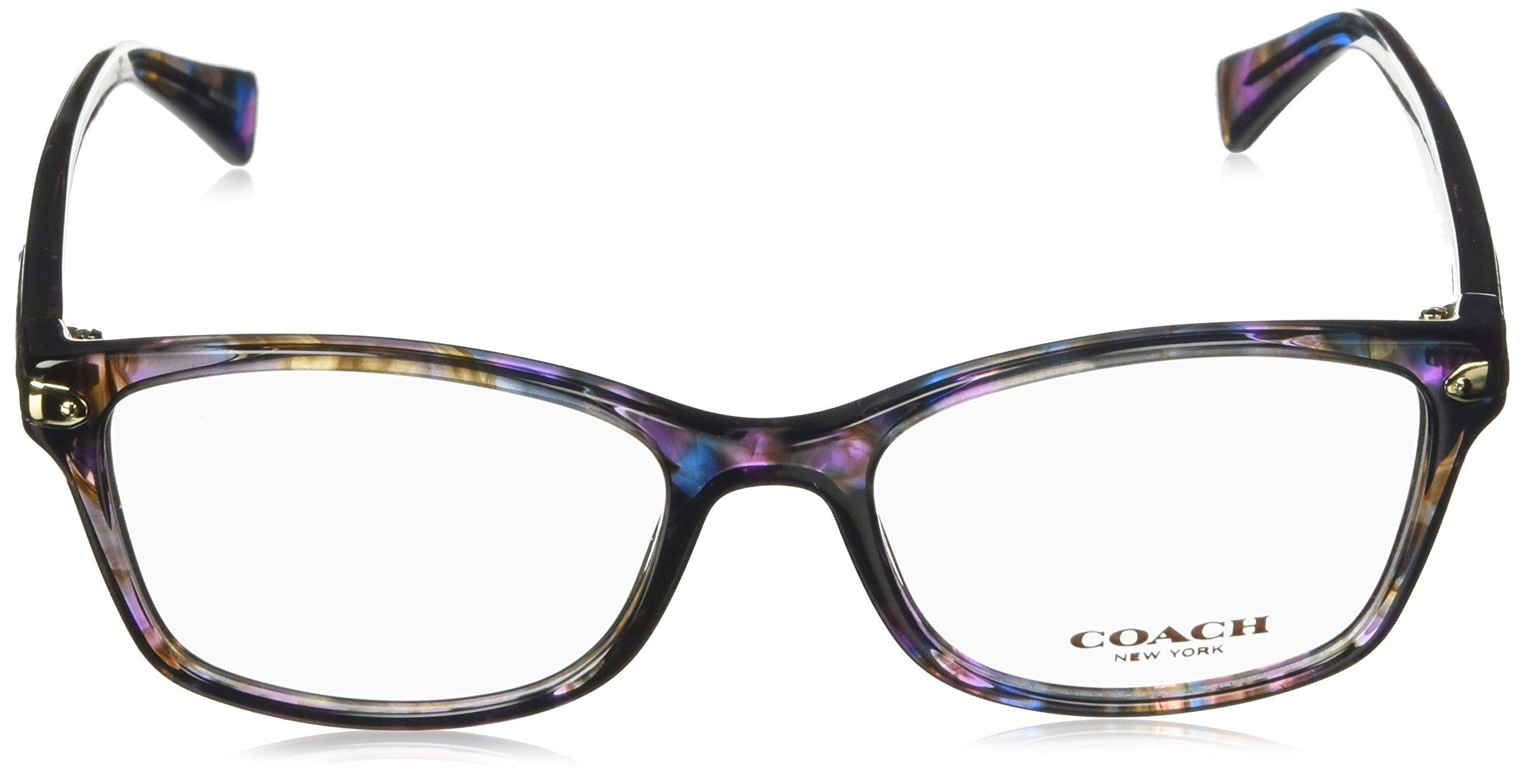 Coach Women's HC6065 Eyeglasses Confetti Purple 51mm by Coach (Image #2)