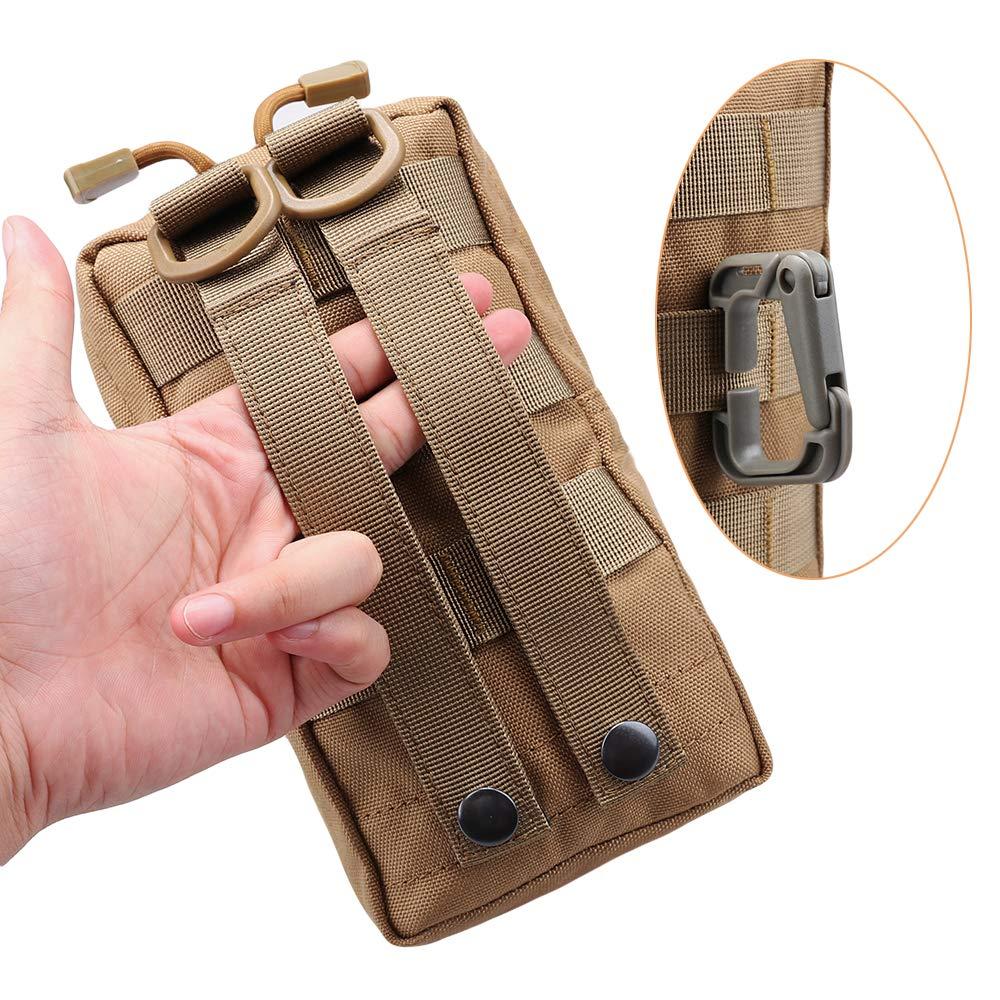 Magarrow Tactical Molle Pouch Taille H/ängetasche Zubeh/ör Halter