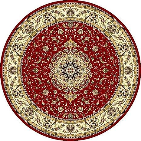 Amazon.com: Tradicionales – Alfombra (Lyndhurst, color rojo ...