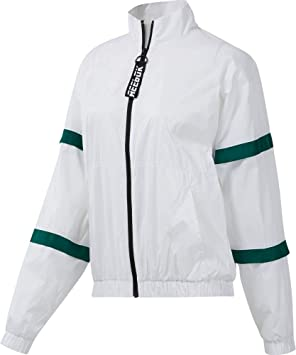 Reebok Wor Myt Woven Jacket Chaqueta, Mujer, Blanco, M