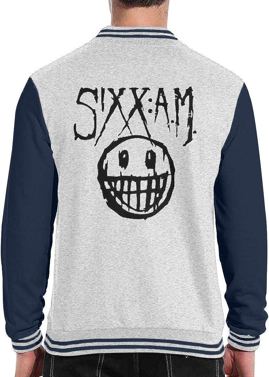 Lucky Grass Sixx Am Unisex Fashion Baseball Uniform Jacket Sports Jacket