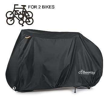 Beeway - Funda para bicicleta, cubierta impermeable resistente al polvo y a la lluvia, protecció