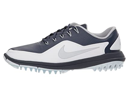 a212be4772ab Image Unavailable. Image not available for. Color  Nike Lunar Control Vapor  2 Spikeless Golf Shoes 2018 Thunder Blue White Pure Platinum
