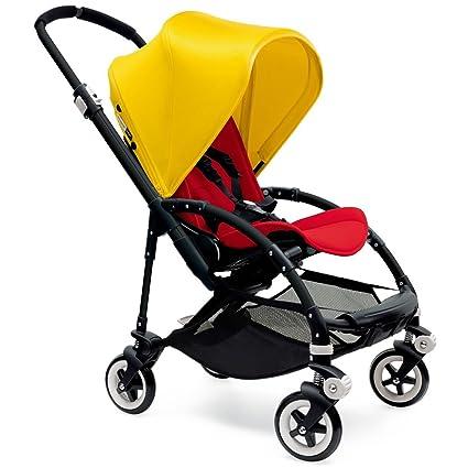 Bugaboo Bee3 cochecito - amarillo brillante/rojo/negro por ...