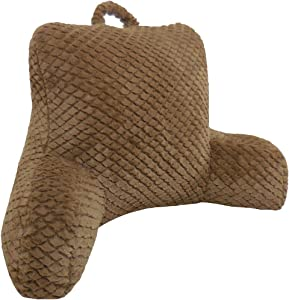 Arlee Cut Plush Bedrest Lounger, Bamboo