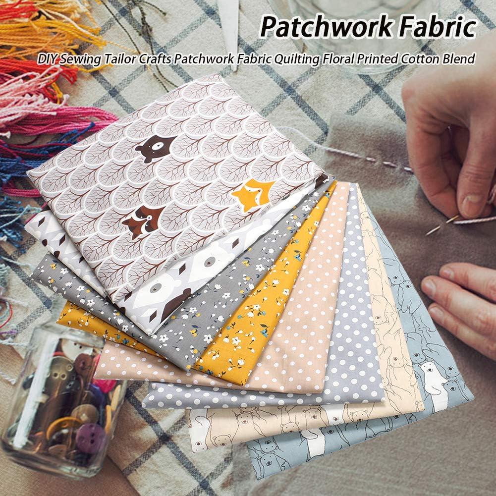 KLOP256 Patchwork, 8 piezas/set de tela de algodón para coser ...
