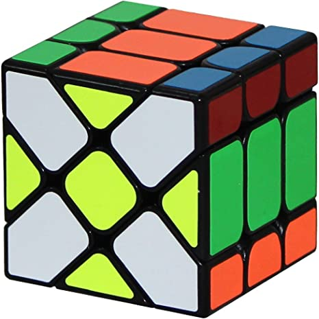 Cubelelo YJ YiLeng Fisher Cube v2 Black Rubik Speed Cube