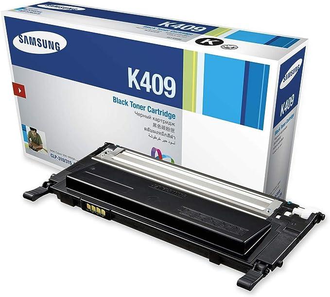 Includes 1 Each of CLT-K409S CLT-C409S CLT-M409S CLT-Y409S Genuine Orginal OEM toner Samsung CLX-3170 Toner Value Pack