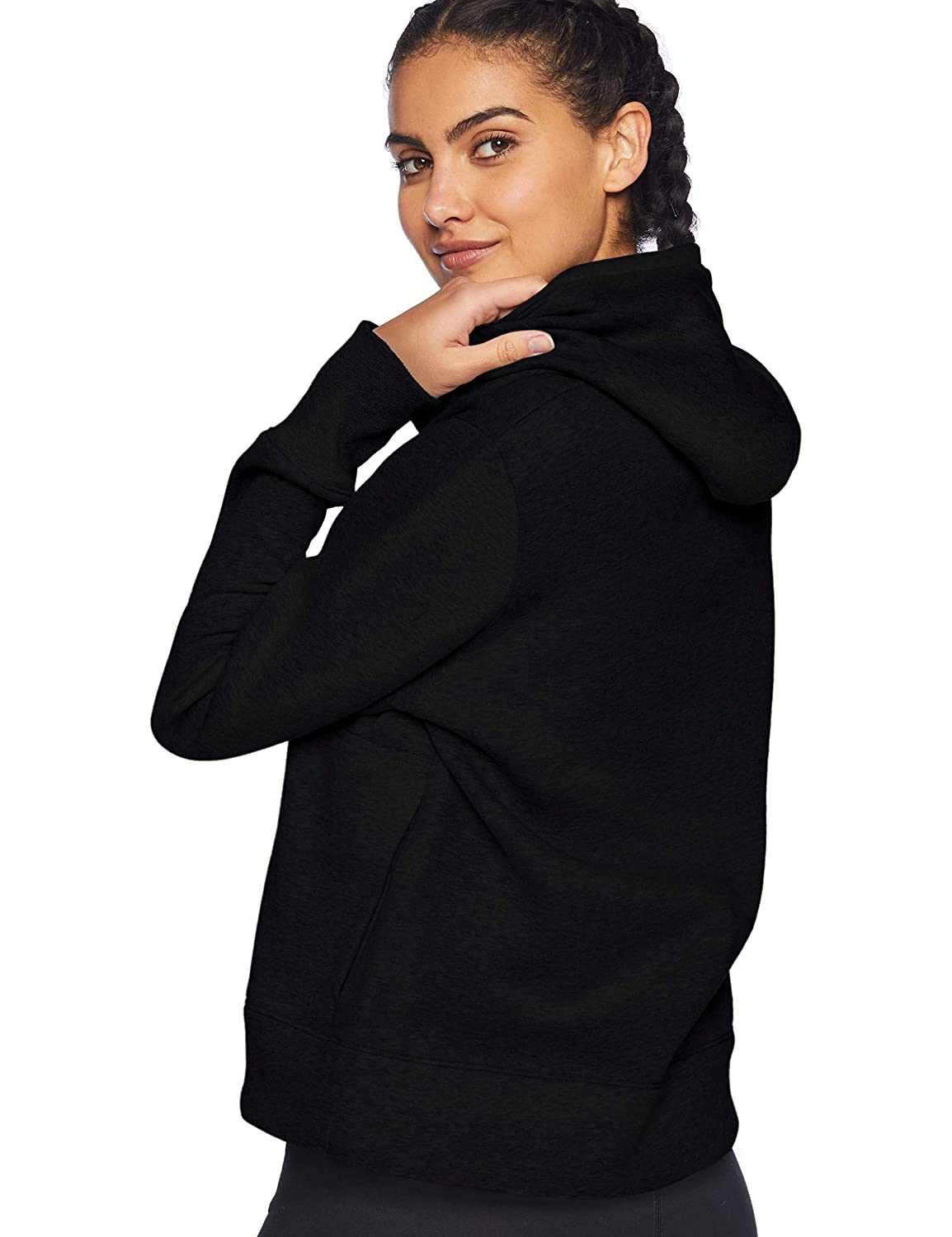 Under Armour Womens Cotton Fleece Sport Style Logo Hoodie Warm-up Top
