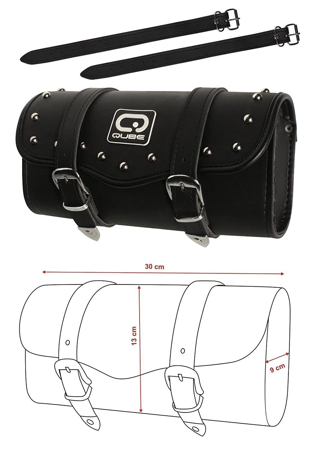 Leather Motorcycle Tool Roll motorcycle tool storage unit