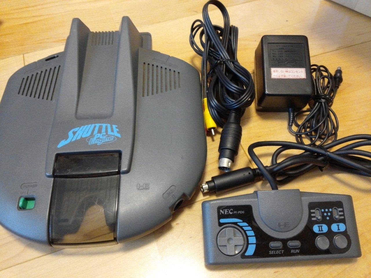 Amazon com: NEC PC Engine Shuttle Console Set - TurboGrafx-16 [Japan