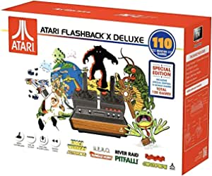 Atari Flashback X Deluxe Retro Console 120 Built-in Games - 2 Wired Controllers - HD HDMI - Plug n Play
