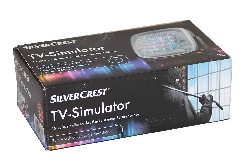 STS 12 B2 Einbrecher abschrecken Silvercrest TV-Simulator 280175