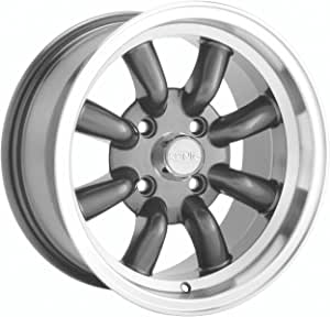 Partnumber 26MB-LI67D04405 Konig Lightning 16x7 Black Wheel Rim 4x100 /& 4x4.5 with a 40mm Offset and a 73.00 Hub Bore