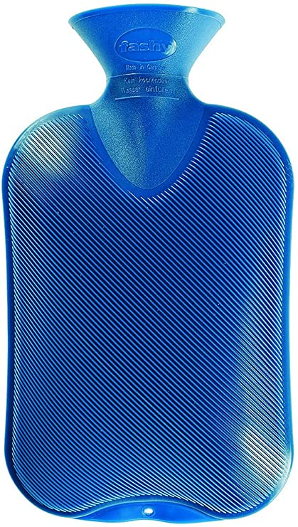 Fashy Bolsa de agua caliente, color azul (2 litros)