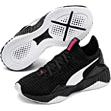 PUMA Kids DEFY PS Sneaker, Black White