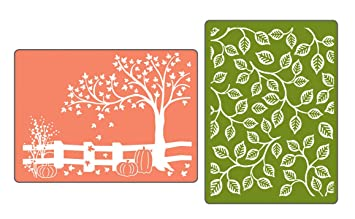 Image result for sizzix leaves embossing folder