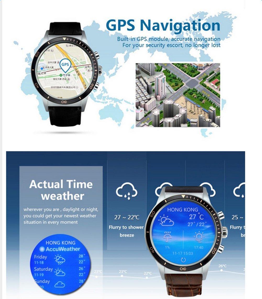 Reloj inteligente Gentman, 3G, con bluetooth, DM98 2.2 pulgadas de ...