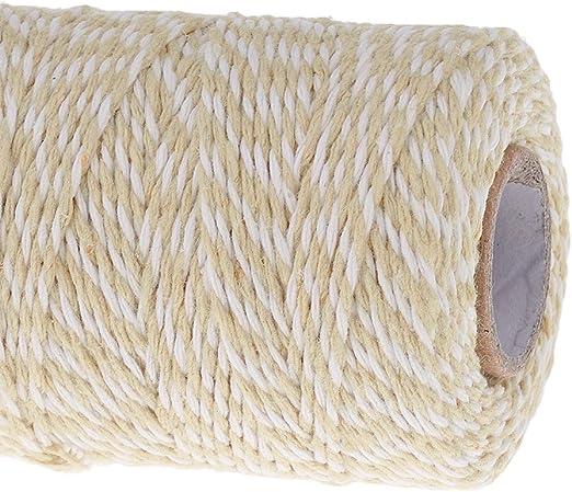 Desconocido 100m Rollo de Cuerda Cinta Hilo Algodón para Costura ...