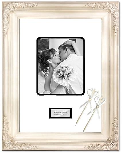 Amazon.com: Anniversary Wedding Retirement Photo 16x20 Picture Frame ...